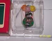 1990 Raccoon Balloon Ride Ornament