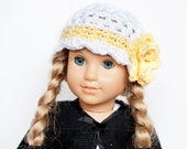 18 inch Doll Hat/ American Girl Doll Hat/ Doll Clothes/