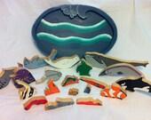 Handmade Wooden Ocean Puzzle