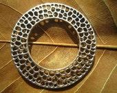 10pcs 49mm antique sliver huge circle charm pendant S220M21960