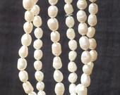 "Pearl Mala Prayer Beads 27"" PM10"