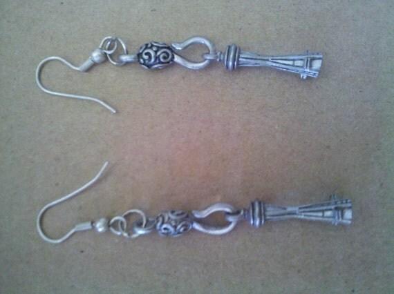 Seattle Space Needle Earrings