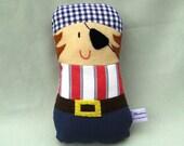 Pirate Toy - handmade soft doll