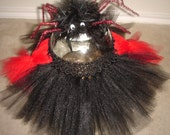 Black Widow Spider Costume Tutu