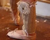 Ballet Antique leg lace
