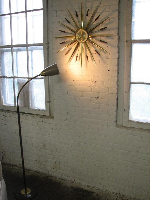 Reserved for Mel Mid Century Modern, 1950's-1960's floor lamp