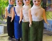 Vintage dolls for crafts