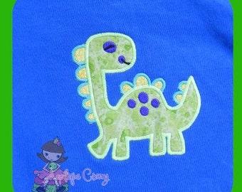 Boy Dino Applique design