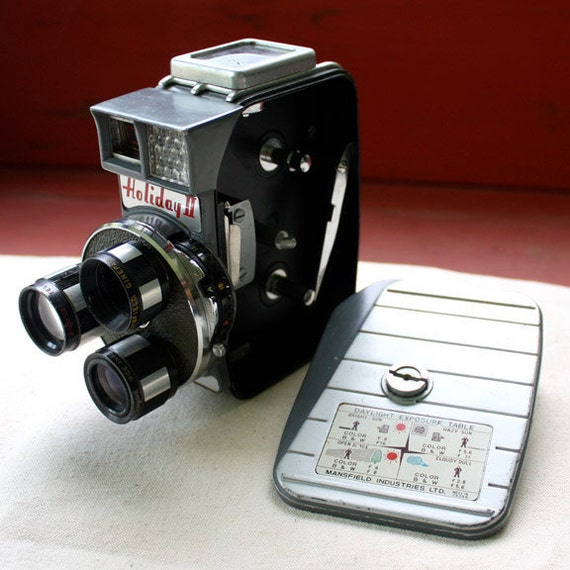 Vintage Video Camera, Mansfield Holiday II