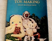 Book: Adventures in Toy-Making, 1976 hardback with dust jacket