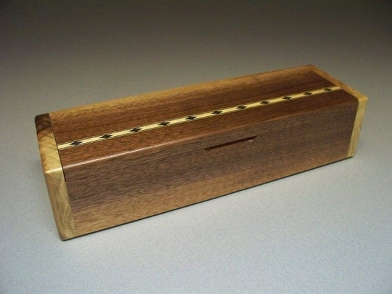 Walnut Wood Inlay Box