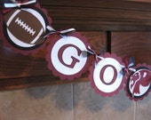 High School Football Party Banner (can customize to your team)