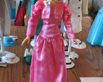 "13 Princess Diana Doll Vinyl 14"" Danbury Mint  Outfits 1980's"
