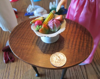 Doll House Bowl of Vegetables 2""