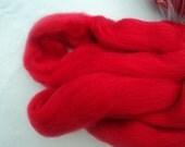 Sale Red Roving Spinning Fiber Merino