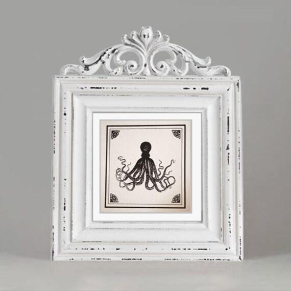 Pretty octopus screen-printed