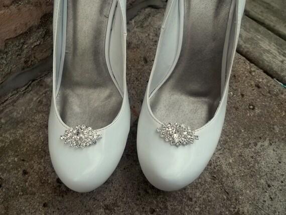 Rhinestone Shoe Clips,Bridal Shoe Clips,Wedding Accessories, Bridal Accessories, Shoe Clips for Wedding Shoes, Bridal Shoes, Heels, Pumps