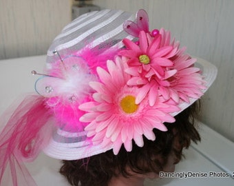 how to make fancy tea party hats