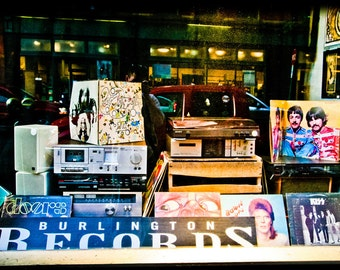 Burlington Records in Vermont Store Front Photo
