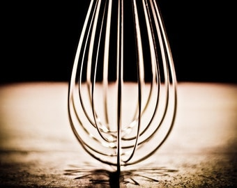 Kitchen Art - Abstract Whisk on Counter Top
