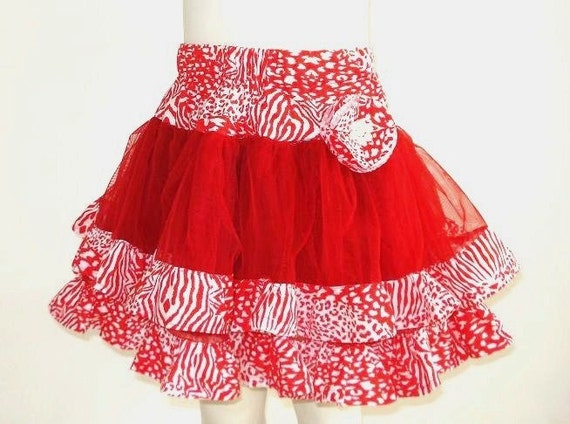 Sewing Pattern Skirt,  Girls pdf pattern for 2 to 10 Years of Age,  Tulle Tutu Skirt