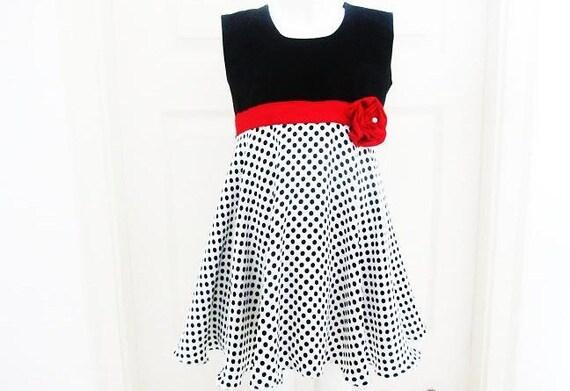 Girls Sewing Pattern Dress - pdf pattern- Rosette Dress