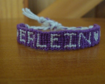 custom made name friendship bracelet