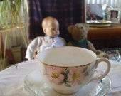 Nippon Tea Cup and Saucer Hand Painted