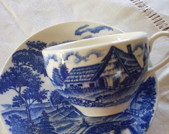 Japanese Tea Cup and Saucer