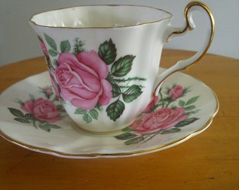 Adderly Tea Cup and Saucer