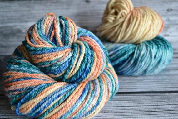 SALE - Lagoon - aran twist- Yarn Loft