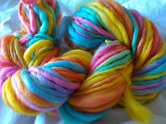 bubblegum factory handspun yarn