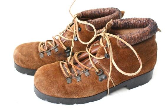 Vintage Italian Leather Hiking Boots Sz 8/9.5