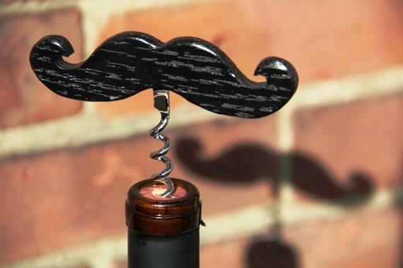 Emergency Moustache Corkscrew