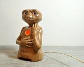 Rare Light Up E.T. Statue