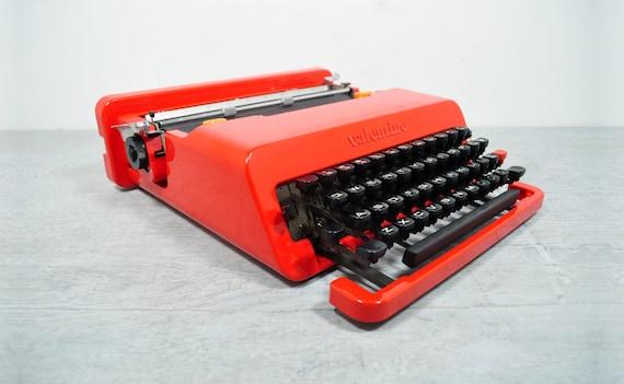 Stunning Olivetti Valentine Typewriter & Case, Beautiful Condition