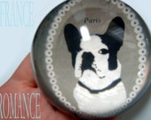 "French Bulldog Paper Weight ""Frenchie' Paris France Romance Chic Gift"