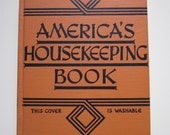 "1945 Hardcover Edition of ""America's Housekeeping Book"""