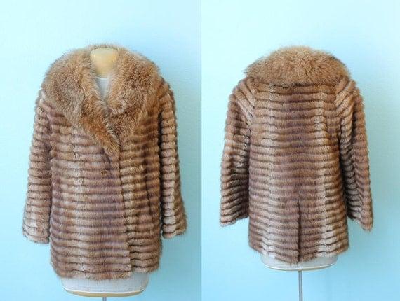 reserved // vintage Chloe fur coat // medium or large