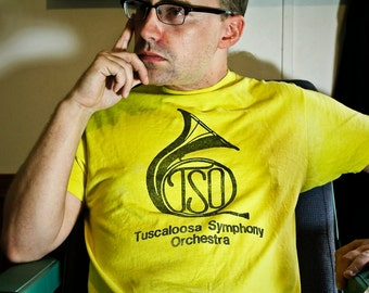 80s TSO Tuscaloosa Symphony Orchestra shirt - Alabama Music T-shirt S / M