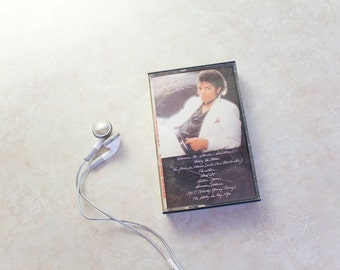 Michael Jackson Thriller . Vintage Cassette Tape from the 1980's
