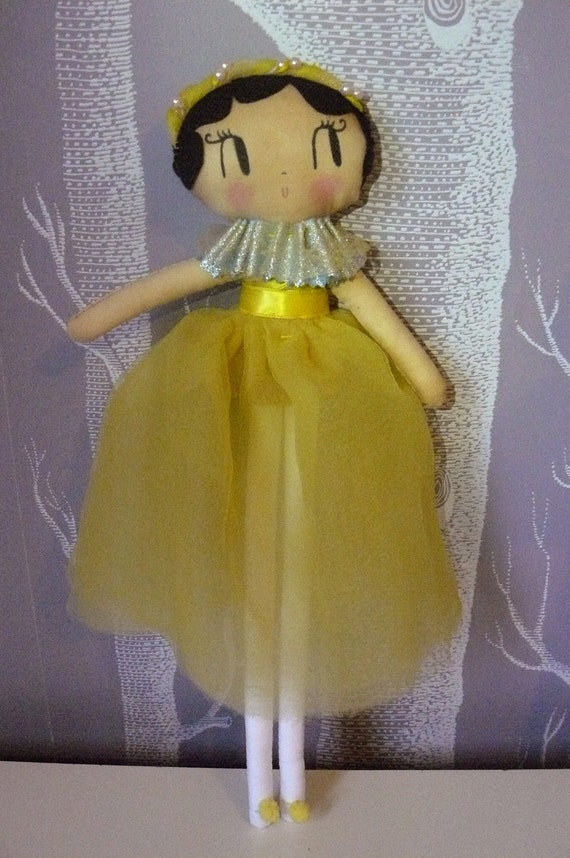 Circus Showgirl. One-of-a-kind handmade doll