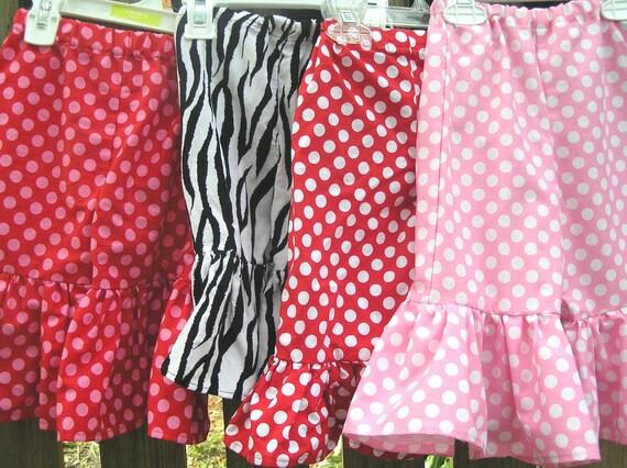 Made to Match Ruffle Pants or Capri