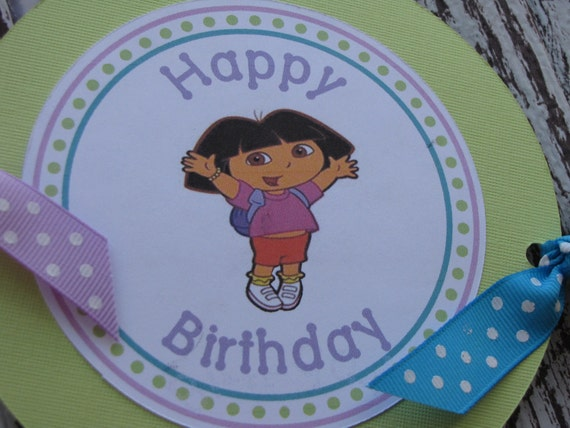 Dora Birthday Wall Decoration : Dora the explorer banner birthday