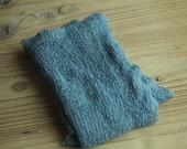 Light Cornflower Blue Stretchy Knit Newborn Wrap
