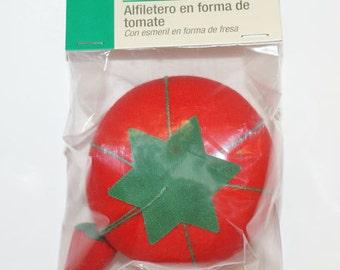 Pin Cushion Small Tomatoe Pin Cushion Sewing Notion Needlecrafts D732