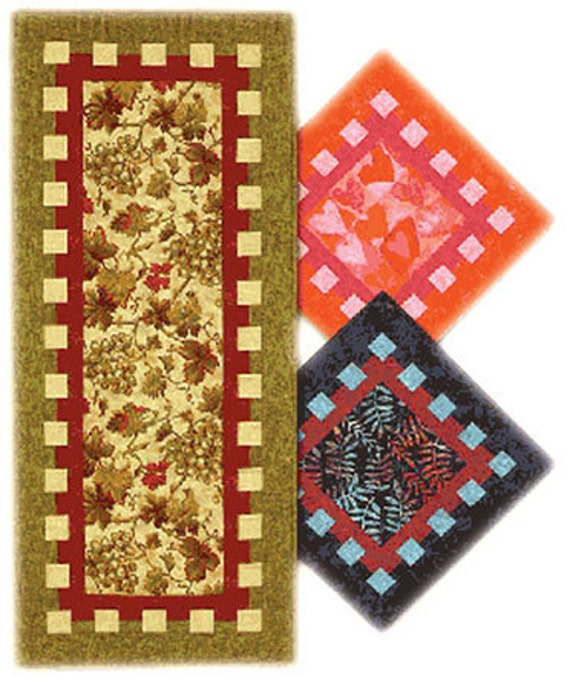 Waffle Time, Beginner Friendly Table Runner Pattern, by Terry Atkinson