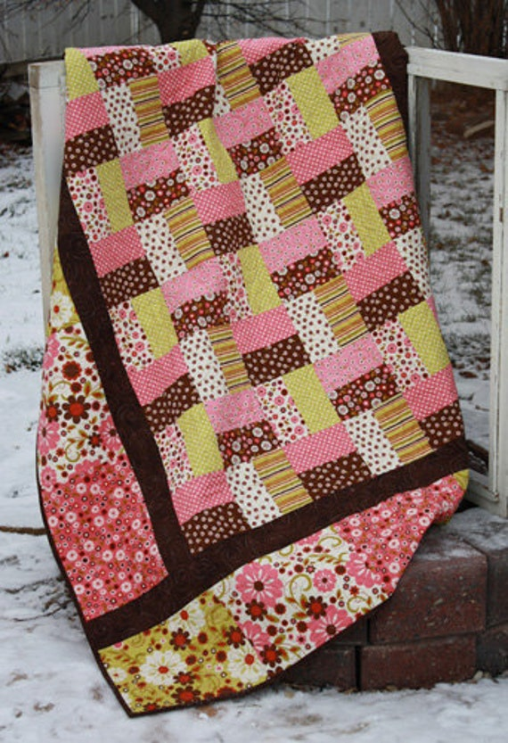 Lap Quilt Pattern Wooly Critters By Hopscotch Quilt