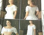VTG Victorian 19th century corset costume dress sewing pattern FF & UNCUT - Size 38/40/42/44