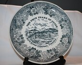 Vintage The Twin Peaks of Otter Blue Ridge Parkway Collectors Plate